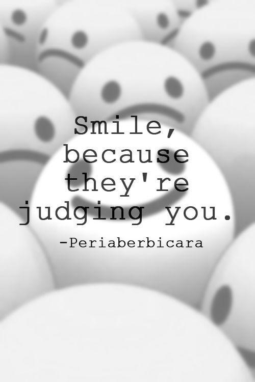 Smile again.