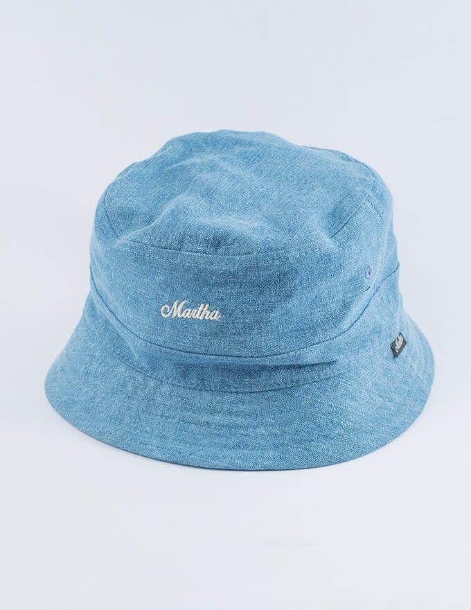 a724cf61e61 Ashbury light denim bucket hat