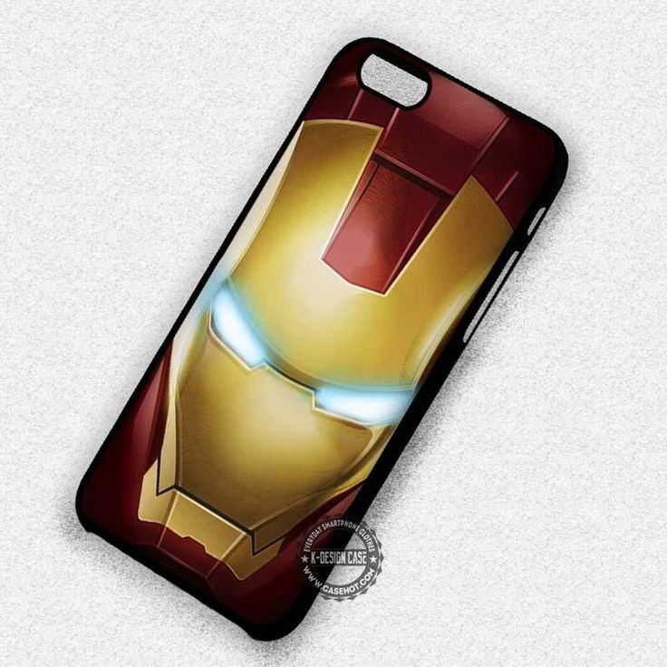 Red Shine Ironman Super Hero Robotic - iPhone 7 6 5 SE Cases & Covers