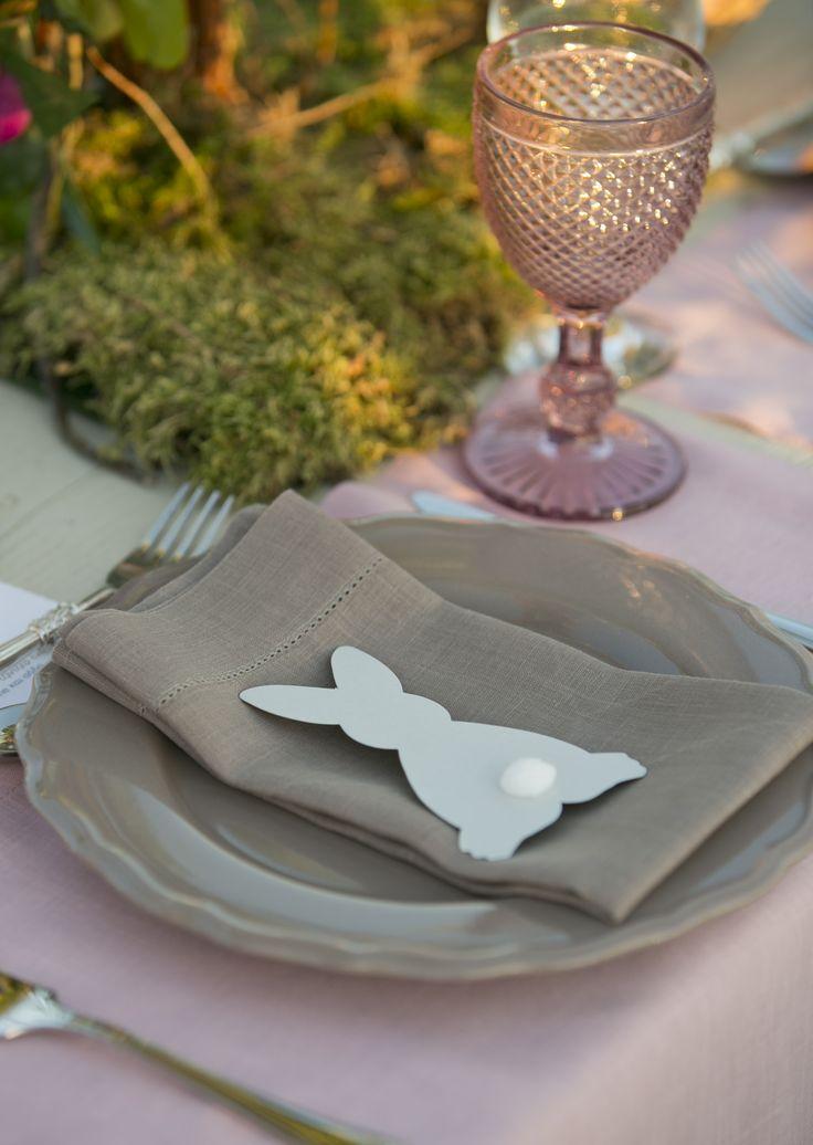 Bunny theme art de la table