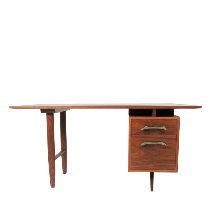 Desk and Chair by George Nakashima image 3