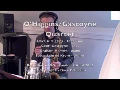 Here's a preview of Jazz Interlude's first guest: Dave O'Higgins (performing Lady Face with the Dave O'Higgins / Geoff Gascoyne Quartet)