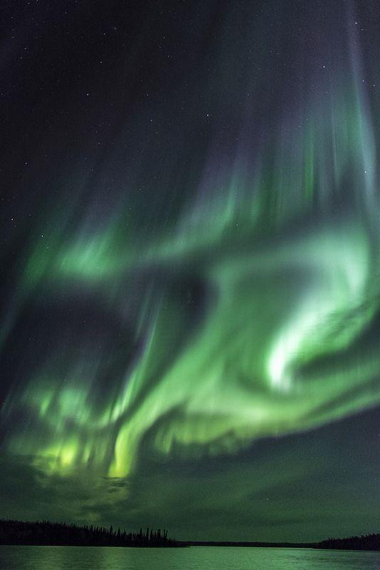 Lights Over Pontoon Lake by Jason Simpson**