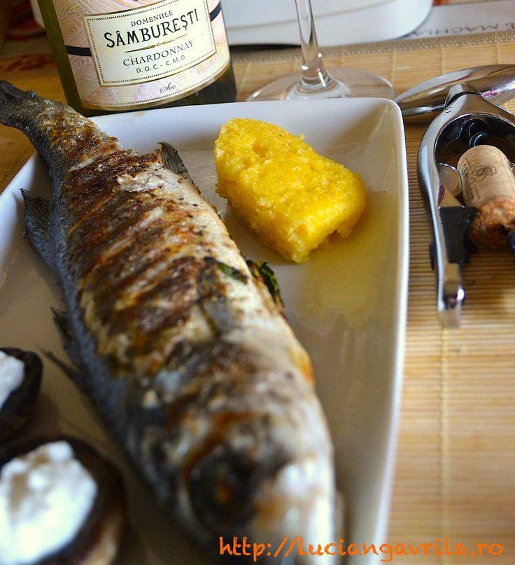 #Grilled #seabass #spigola #branzino #robalo #loup-de-mer