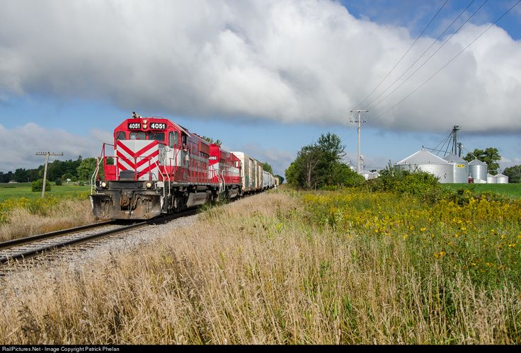 RailPictures.Net Photo: WSOR 4051 Wisconsin & Southern EMD SD40-2 at Avalon, Wisconsin by Patrick Phelan