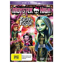 Monster High Freaky Fusion - DVD