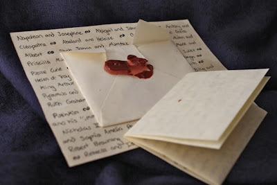 Letter writing is a lost art. . .