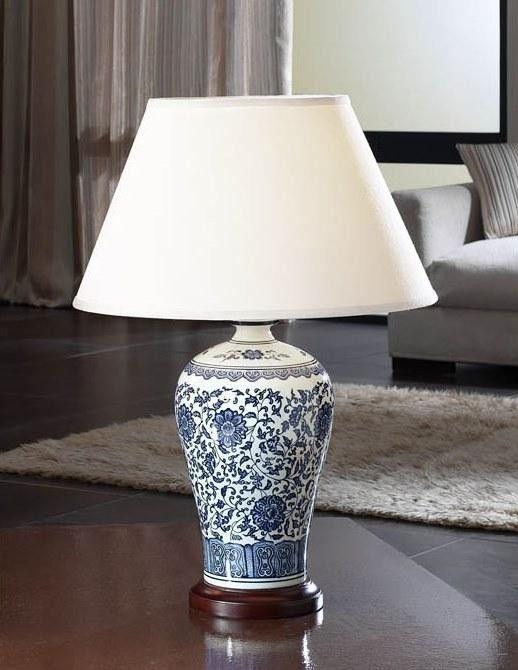 Veioza, lampa de masa din ceramica, H-65cm, LED Alcora 660810 - Corpuri de iluminat, lustre, aplice