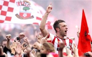 Rickie Lambert - Southampton manager Nigel Adkins is lost for words as his side are promoted to the Premier League