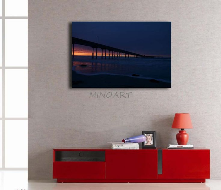 3 Piece Wall Art Painting A Bridge Is Very Long Picture Print On Canvas  City 4 Part 33