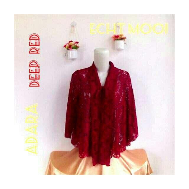 Saya menjual ADARA Deep Red seharga Rp110.000. Dapatkan produk ini hanya di Shopee! https://shopee.co.id/echt.mooi/764887427 #ShopeeID
