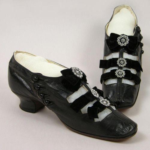 Shoes, ca 1880, Oakland Museum of California