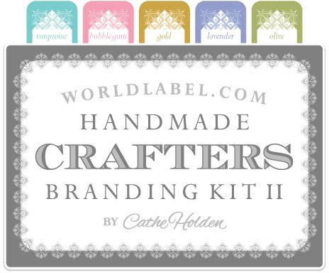 FREE PRINTABLES; Huge branding kit of 14 different sizes, 6 different colors. Perfect for small business start ups, crafters, soap and candle makers. Enjoy :)