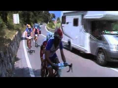 """Cinzia Coluzzi rides the Milano-Sanremo race in tandem...2010: """"Vai Cinzia""""!!!!!"""