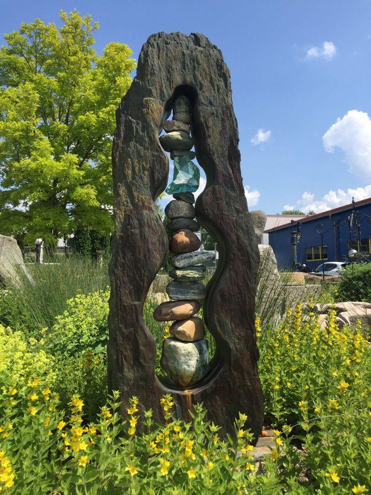 Naturstein Fur Den Garten Allgau Brunnenzentrum Natursteine Gartenkunst Baum Skulptur