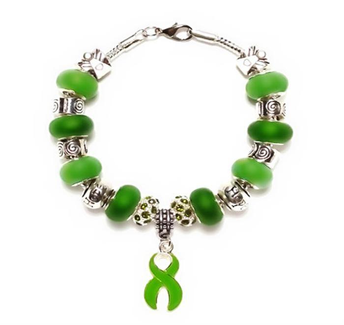 Liver Cancer Awareness European Style Bracelet - Janny's Storybeads   Scott's Marketplace