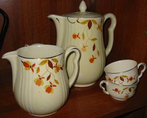 Jewel Tea Autumn Leaf Pattern Collections.