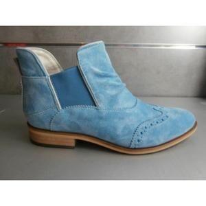 Bleu Turquoise boots Santiag Femme Boots Turquoise q5HzTw