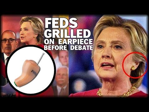 BREAKING: FEDS GRILLED ON CLINTON CHEATING WITH EARPIECE - YouTube