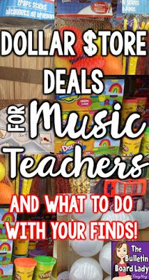 Dollar Store Deals for Music Teachers –Learn about 13 must have dollar store finds for your music classroom.  Ideas for assessment, workstations,  DIY crafts, singing games and manipulatives are discussed in this post by a veteran music teacher.