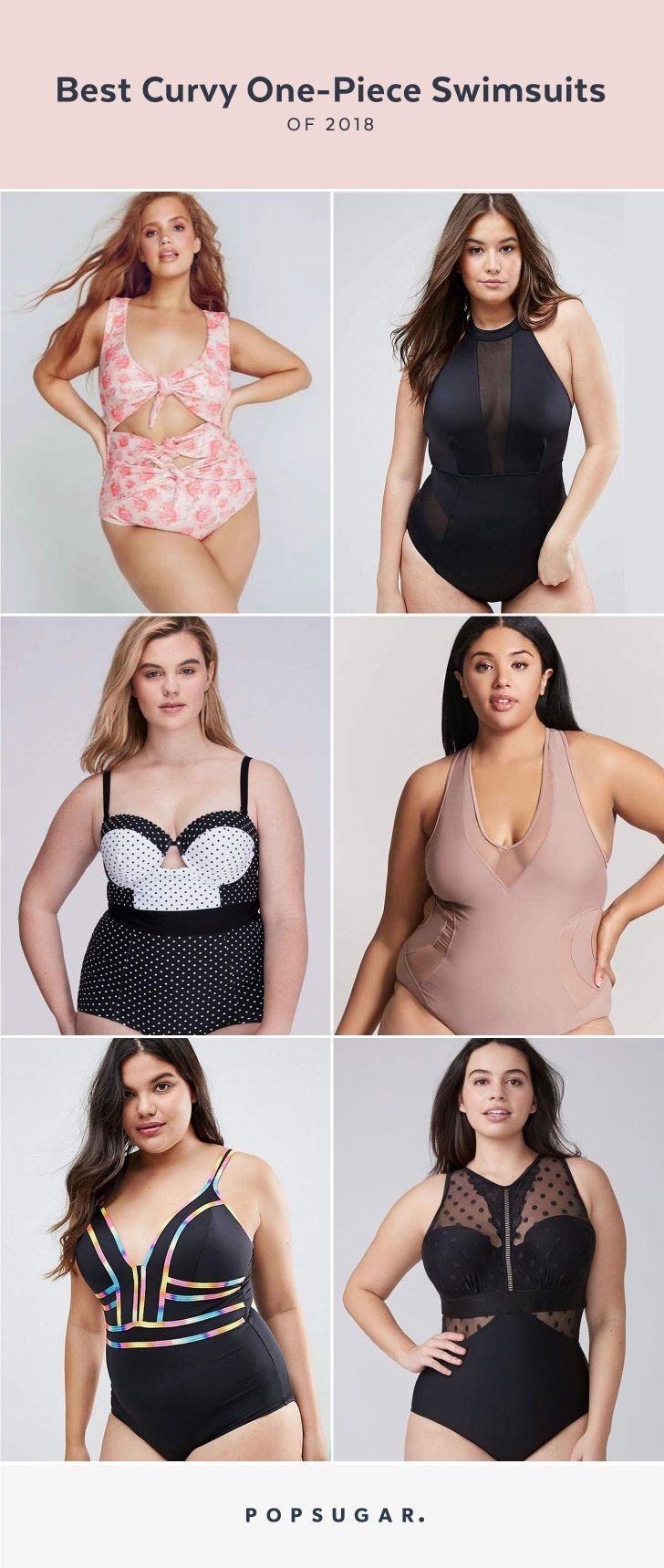 47c84c5b59633 Prepare to Be Obsessed — We Found the 11 Cutest One-Piece Swimsuits For  Curvy Girls