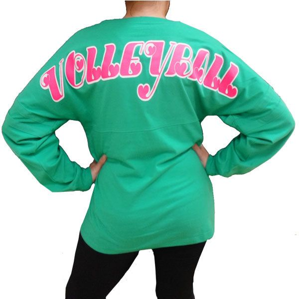 All Volleyball! Spirit Volleyball Jersey - Teal