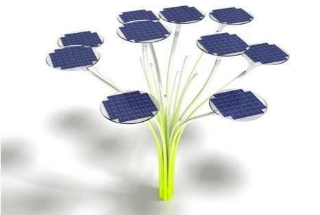 Streetlights Go Green via Solar Power and LEDs #art trendhunter.com