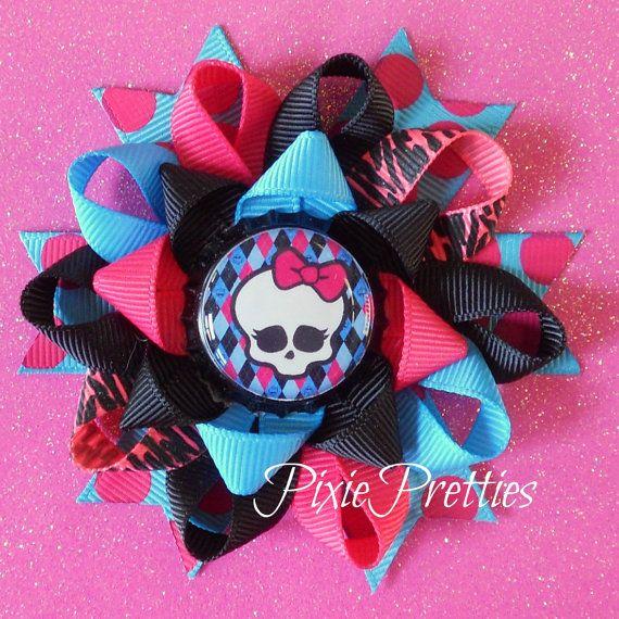 Monster High Loopy Flower Hair Bow