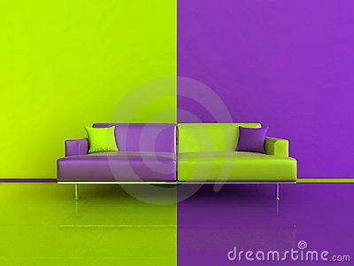 Interiors purple and royalty free stock photos on pinterest for Interior home color combinations and contrast
