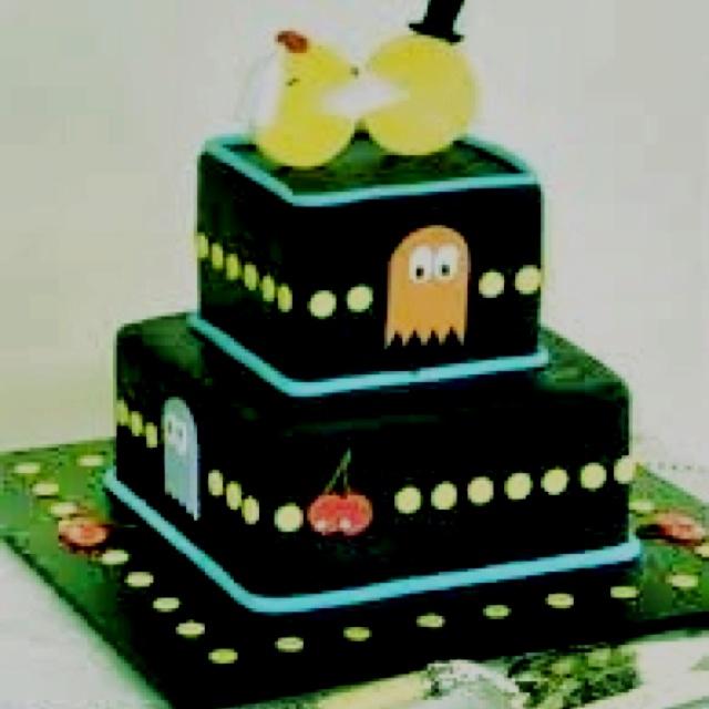 Pacman Wedding Cake!! 0=