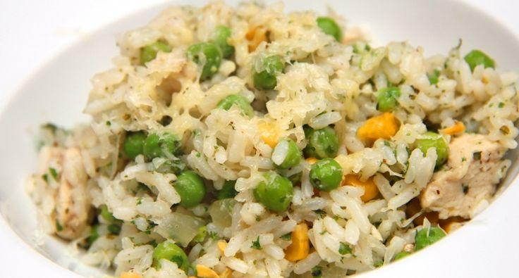 Brazil csirkés rizs recept