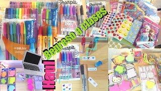 Haul Regreso a Clases 2016| Stickers, Sharpies, Post'its y más! - YouTube