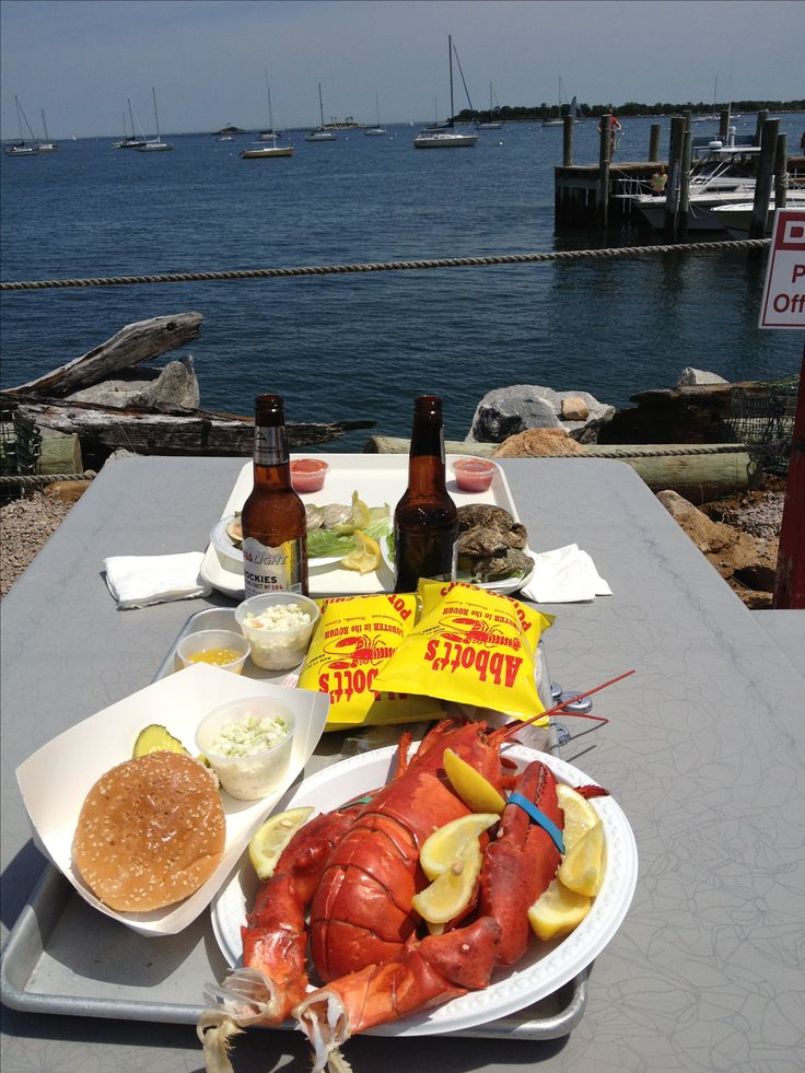 Abbotts lobster shack mystic Connecticut