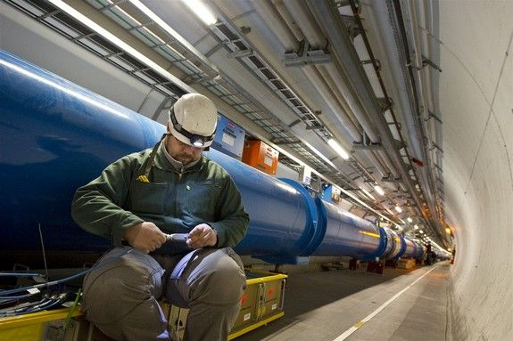 Photos: Large Hadron Collider, the World's Largest Atom Smasher