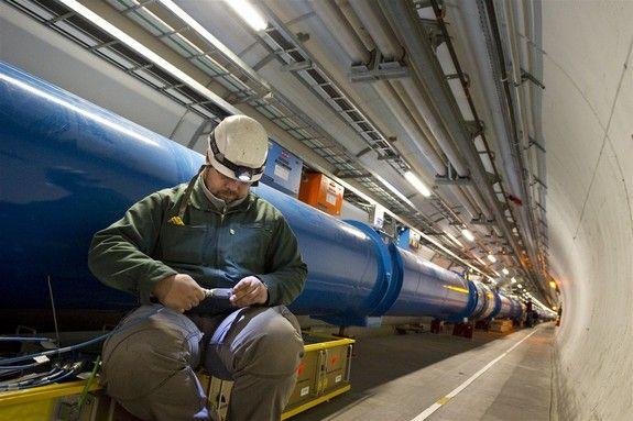 Photos: Large Hadron Collider, the World's Largest Atom Smasher