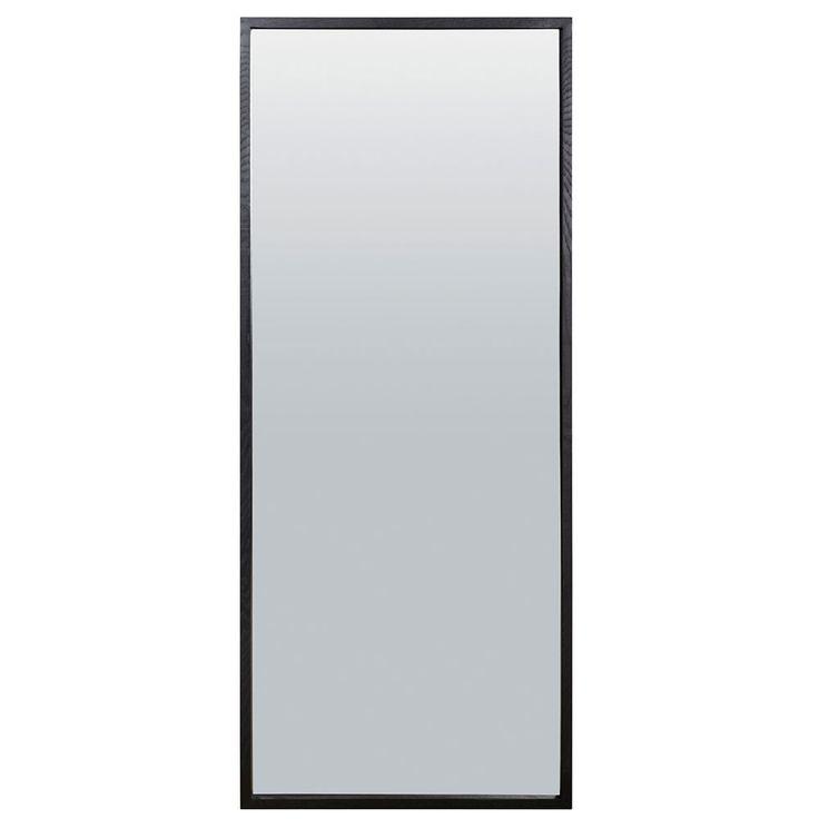 Box Speil 200x80cm, Svart, House Doctor