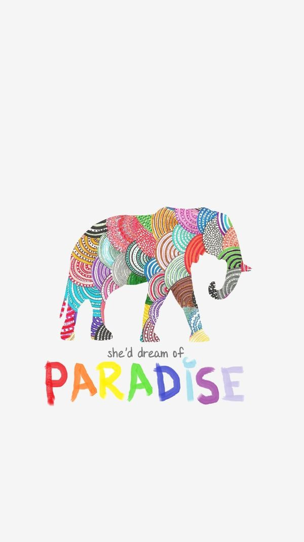 Wallpaper Paradise Coldplay  (lyrics)