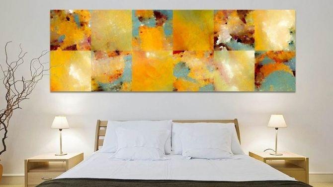 Les 25 meilleures id es concernant t te de lit de toile for Miroir au dessus du lit