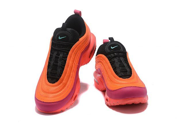 new concept 04d61 33dae Nike Air Max 97 Plus TN Pink Purple Orange Women s Running Shoes AH8143 600