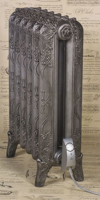 Sovereign Gold electric-radiator colour on Victoriana 3 column cast iron…                                                                                                                                                                                 More