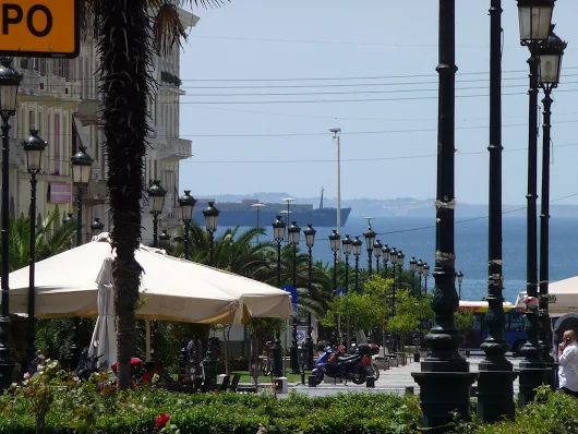 In the city of Thessaloniki in Macedonia, northern Greece