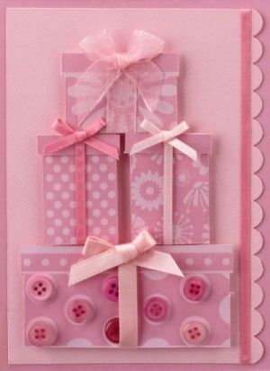 diy birthday card ideas   Birthday card using scraps by pilar laguna