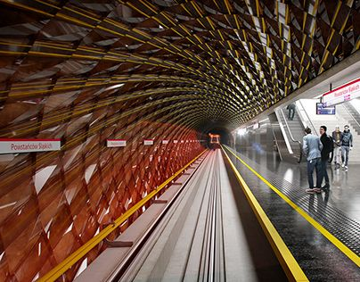 "Check out new work on my @Behance portfolio: ""Warsaw - Metro staton concept"" http://be.net/gallery/41480253/Warsaw-Metro-staton-concept"