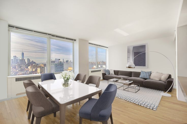 Sunshine, Space And Views!  ..   450 West 17th Street 2406, Chelsea, NYC, Represented exclusively by Lisa Rose and Jackie Siegel. See more eye candy on this home at http://www.halstead.com/16170193