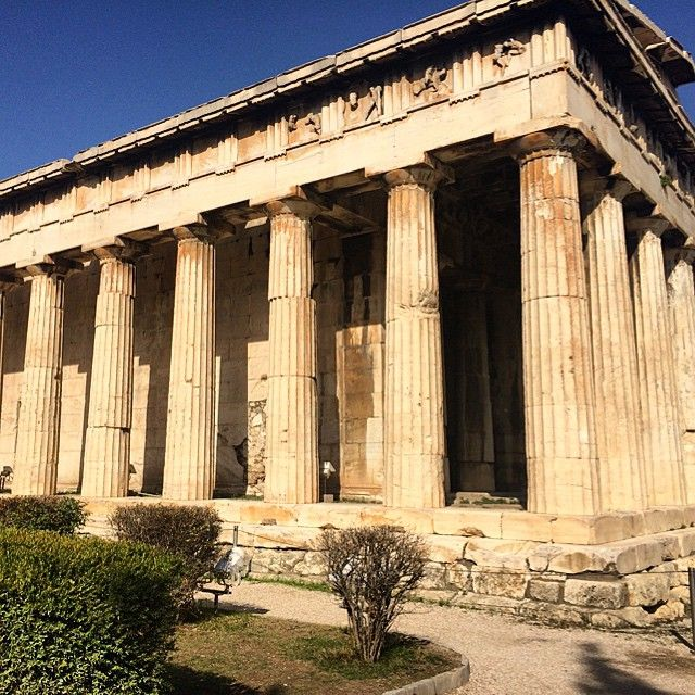 Temple of Hephaestus Photo credits: @mrsmhun