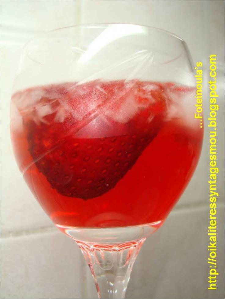 Strawberry liquore