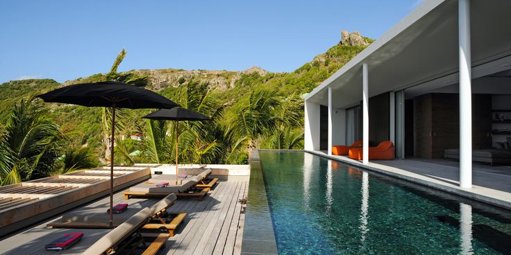 Les #vacances à #SaintBarth. #Villa Bakea #Casol #Caraibes