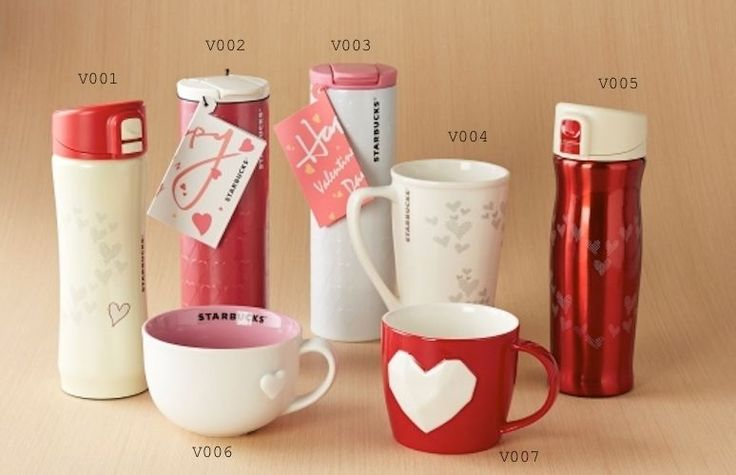 STARBUCKS VALENTINE DAY 2015 Mugs and Tumblers ***THAILAND collection***