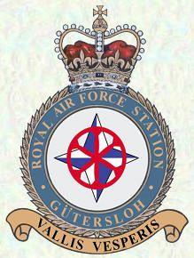 Station badge - RAF Gutersloh