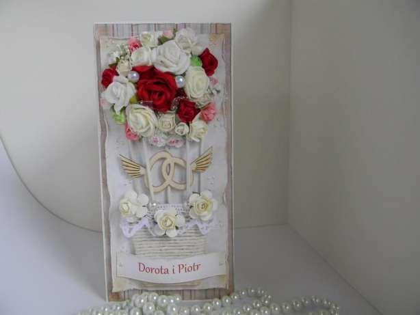 Kartka ręcznie robiona - Urodziny, Ślub, rocznice Ślubu itp Żywiec - image 7